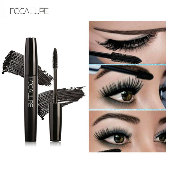 Professional Volume Curled Lashes Black Mascare Waterproof