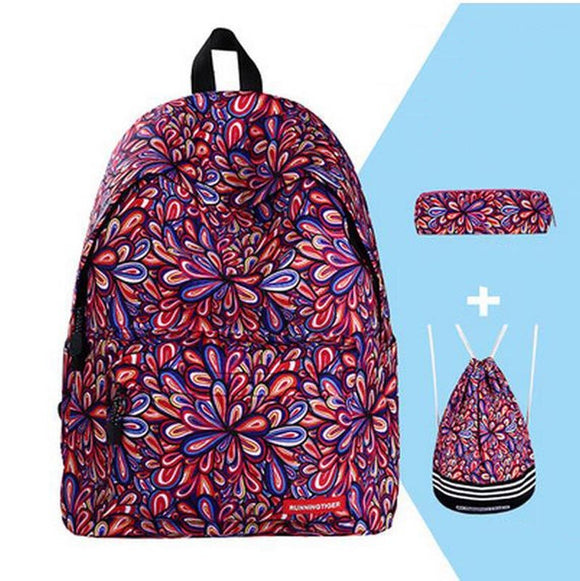 RUNNINGTIGER Fashion Backpack Set - DromedarShop.com Online Boutique