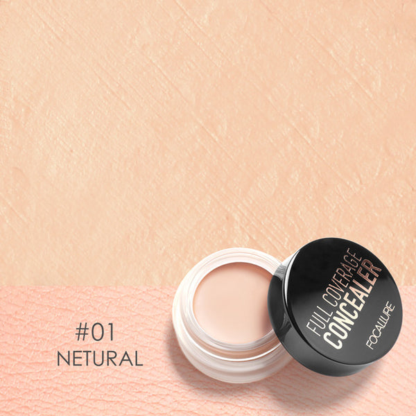 FOCALLURE 7 Colors Full Cover Concealer Makeup Primer Cover Foundation DromedarShop.com Online Boutique