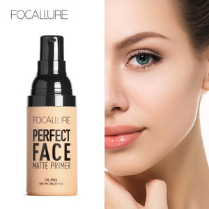 FOCALLURE Face Matt Primer Natural Makeup Foundation DromedarShop.com Online Boutique