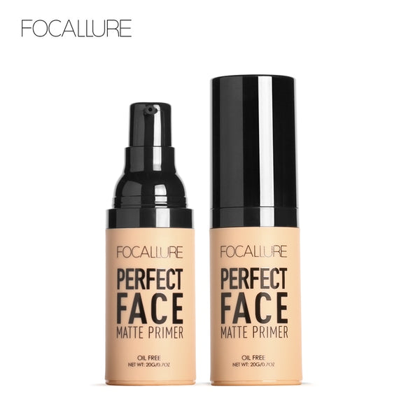 FOCALLURE Face Matt Primer Natural Makeup Foundation - DromedarShop.com Online Boutique