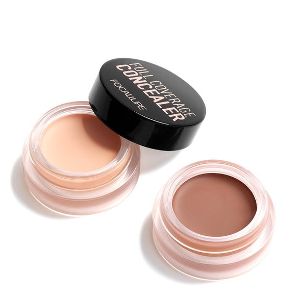 FOCALLURE 7 Colors Full Cover Concealer Makeup Primer Cover Foundation - DromedarShop.com Online Boutique
