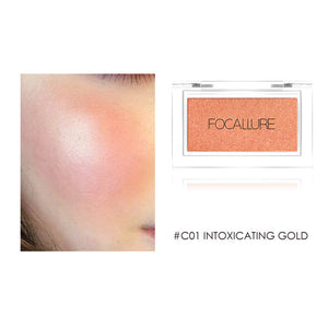 Focallure Blush Natural Pressed Powder Single Face Makeup DromedarShop.com Online Boutique