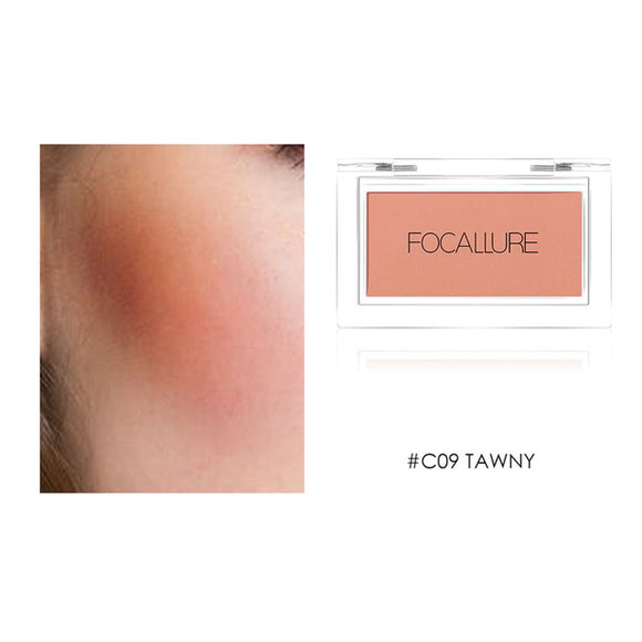 Focallure Blush Natural Pressed Powder Single Face Makeup