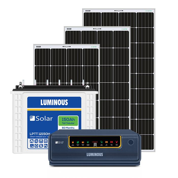 1 kW off Grid Solar System With Inverter and Battery