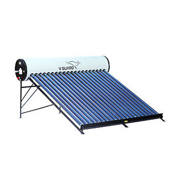 V-Guard Solar Water Heater - V HOT 200 LPD (AL)-Non Pressurized
