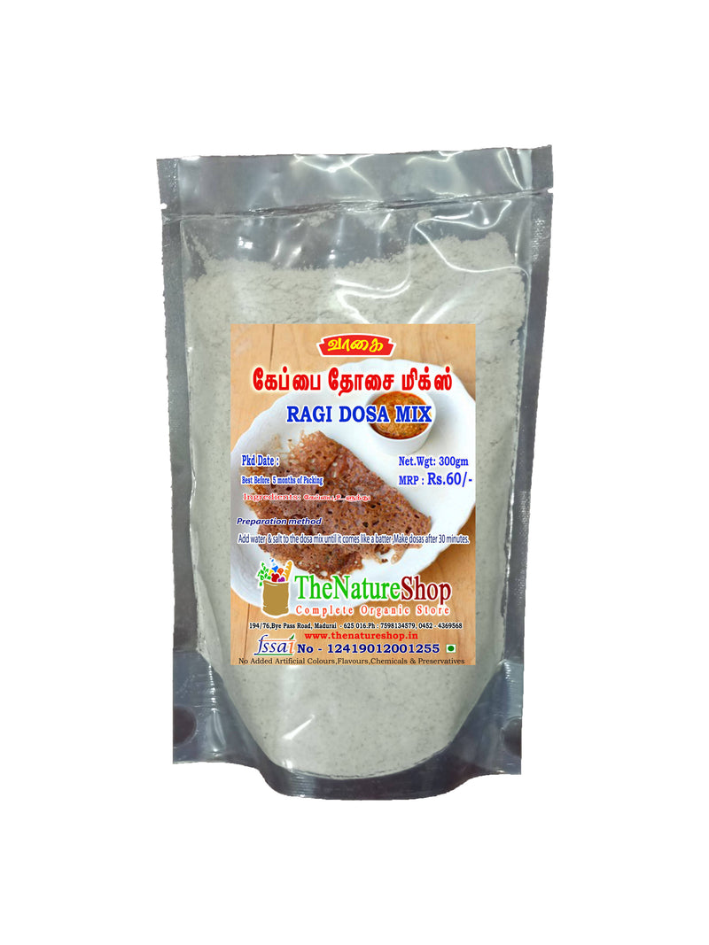 RAGI DOSA MIX - 10kg (Pack of 1)