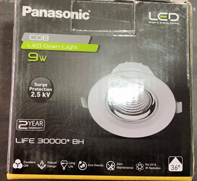 Panasonic 9W cob Led Downlight