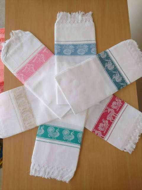 Cotton Bath Towels - 480 Pcs (Pack of 1)