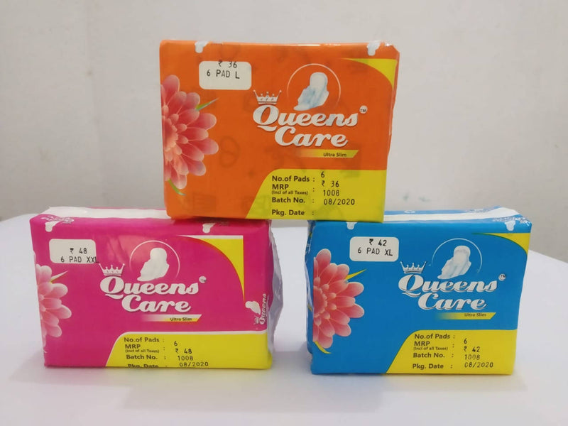Sanitary Napkin (XL) - (Pack of 5)