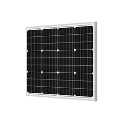 Solar Panel 50 watt - 12 volt Mono Crystalline