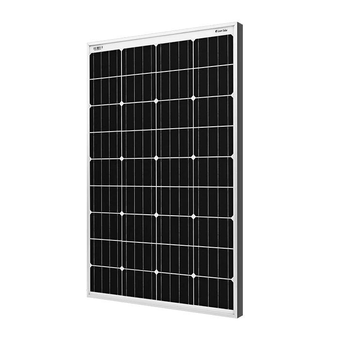 Solar Panel 75 watt - 12 volt Mono Crystalline