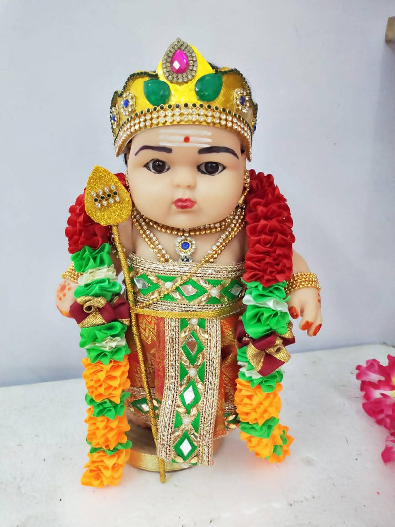 Murugan chubby rubber doll