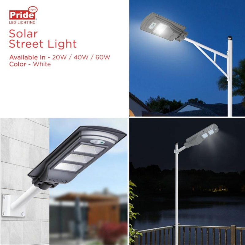 All-In-One Solar Street Light 20 Watts