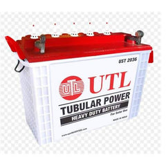 UTL UST 2036 : 200 Ah Tubular C10 Battery - 36 Months Warranty