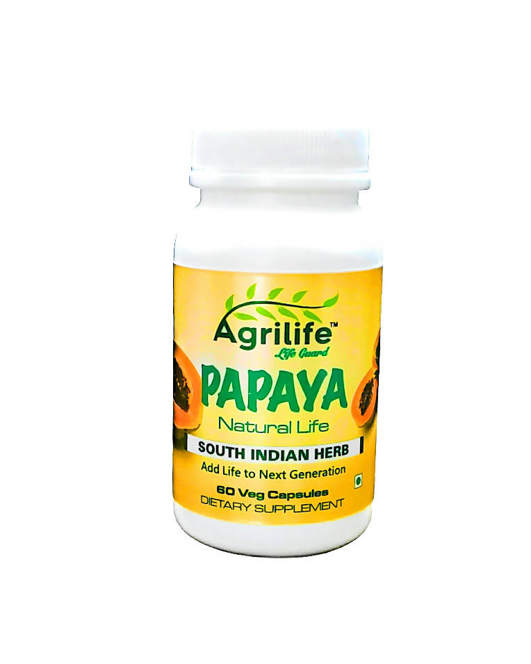Papaya Leaf Extract 500mg 60 Capsules