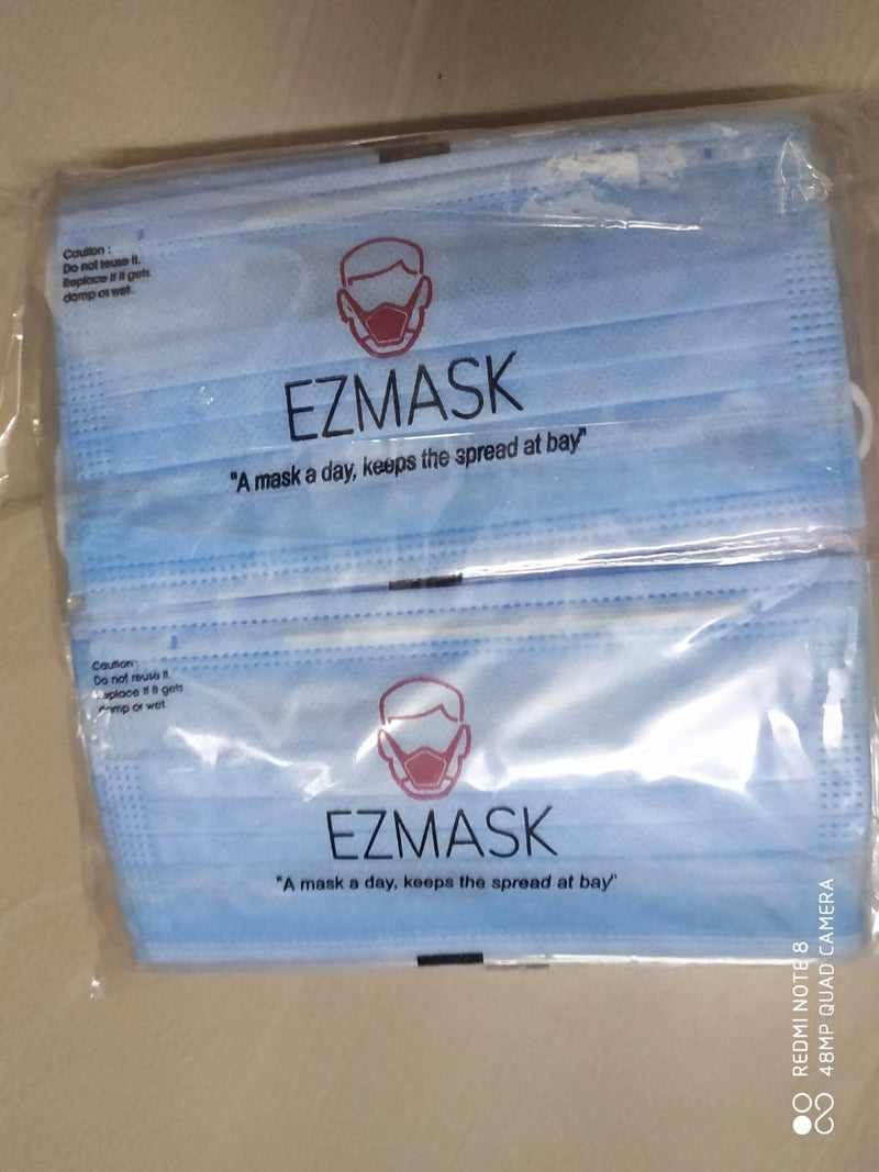 EZ 3 Ply Face Mask, SITRA Certified ( Individual Pack)