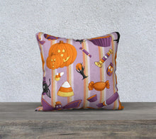 Sweet Halloween Stripe Pillowcase
