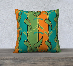 Dia de los Muertos Flourishes Pillowcase