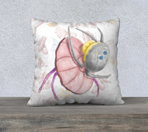 Ballerina Bugs Spider Scatter Pillowcase