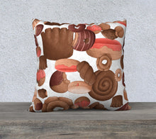 Sweet Sloths Heavy Donut Scatter Pillowcase