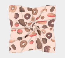 Sweet Sloths Heavy Donut Scatter Scarf