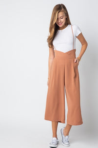 City Pant Jumper - Pink Canary