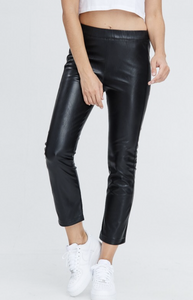 Biker Pant - Pink Canary