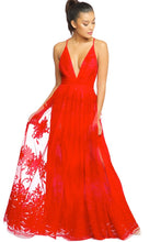 Load image into Gallery viewer, Banff Mesh Maxi - Pink Canary