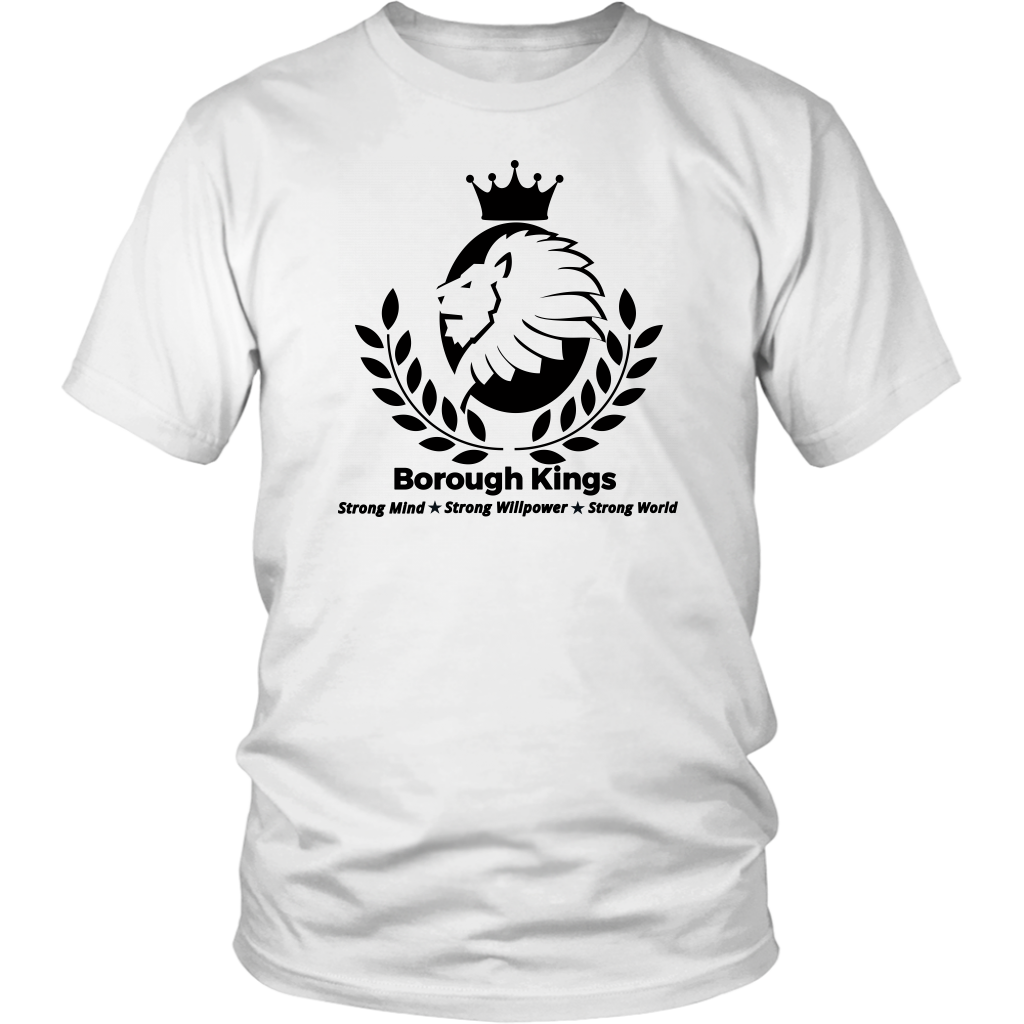 Borough Kings With Tagline Unisex Shirt - Borough Kings