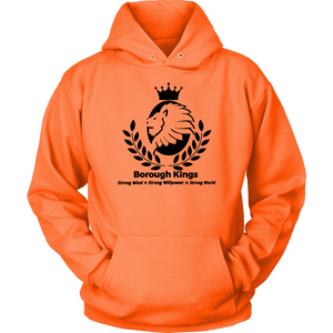 Borough Kings With Tagline Unisex Hoodie - Borough Kings