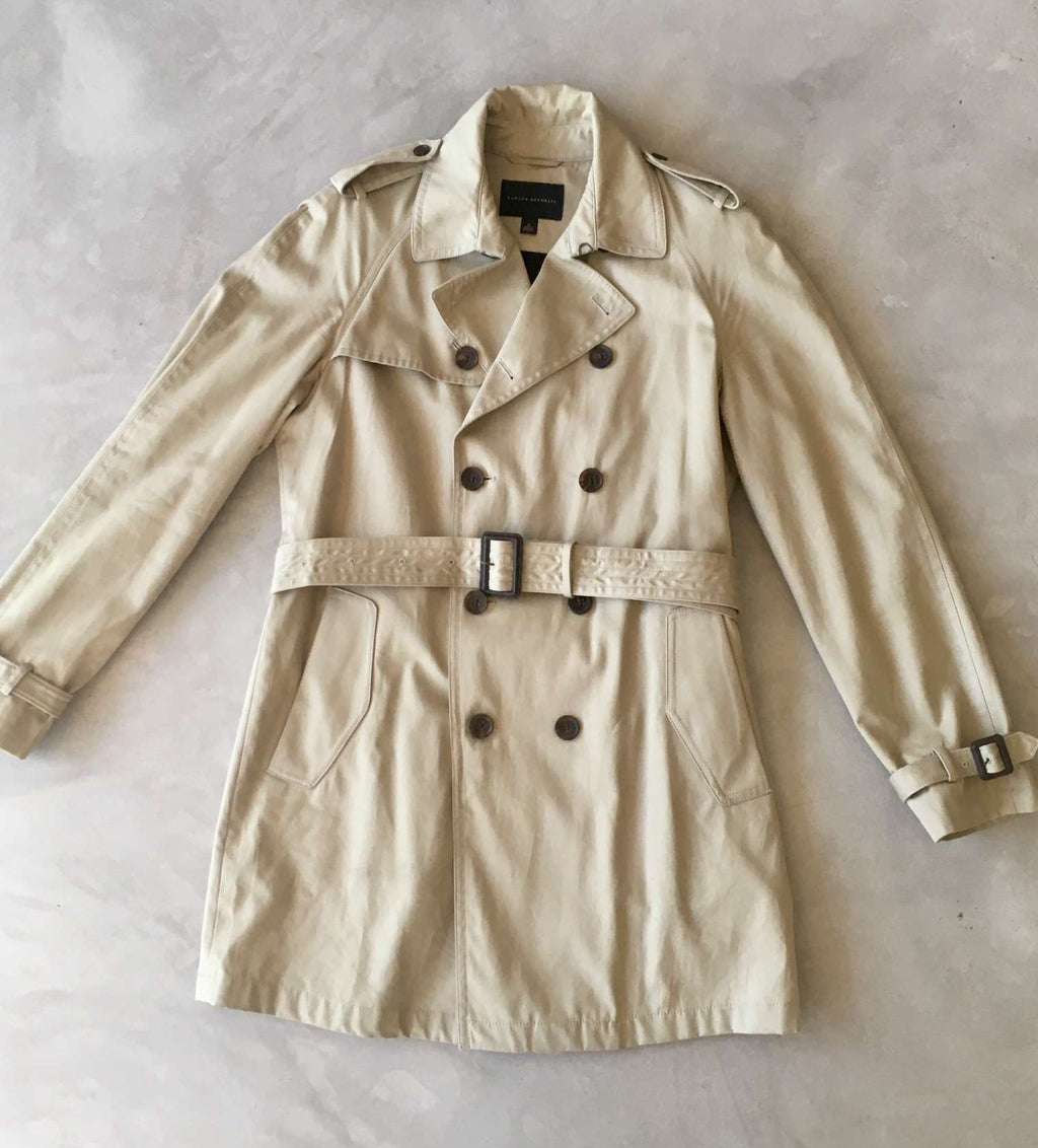 Banana Republic trench coat (S)