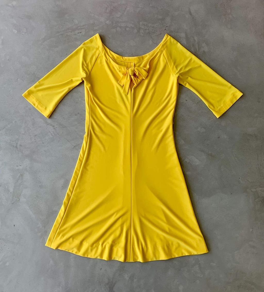 Sunshine yellow dress (SA8)