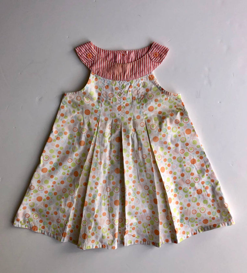 Polkatots polka dot dress (18-24 months)