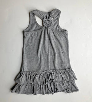 Real Kids grey frill dress (6 years)