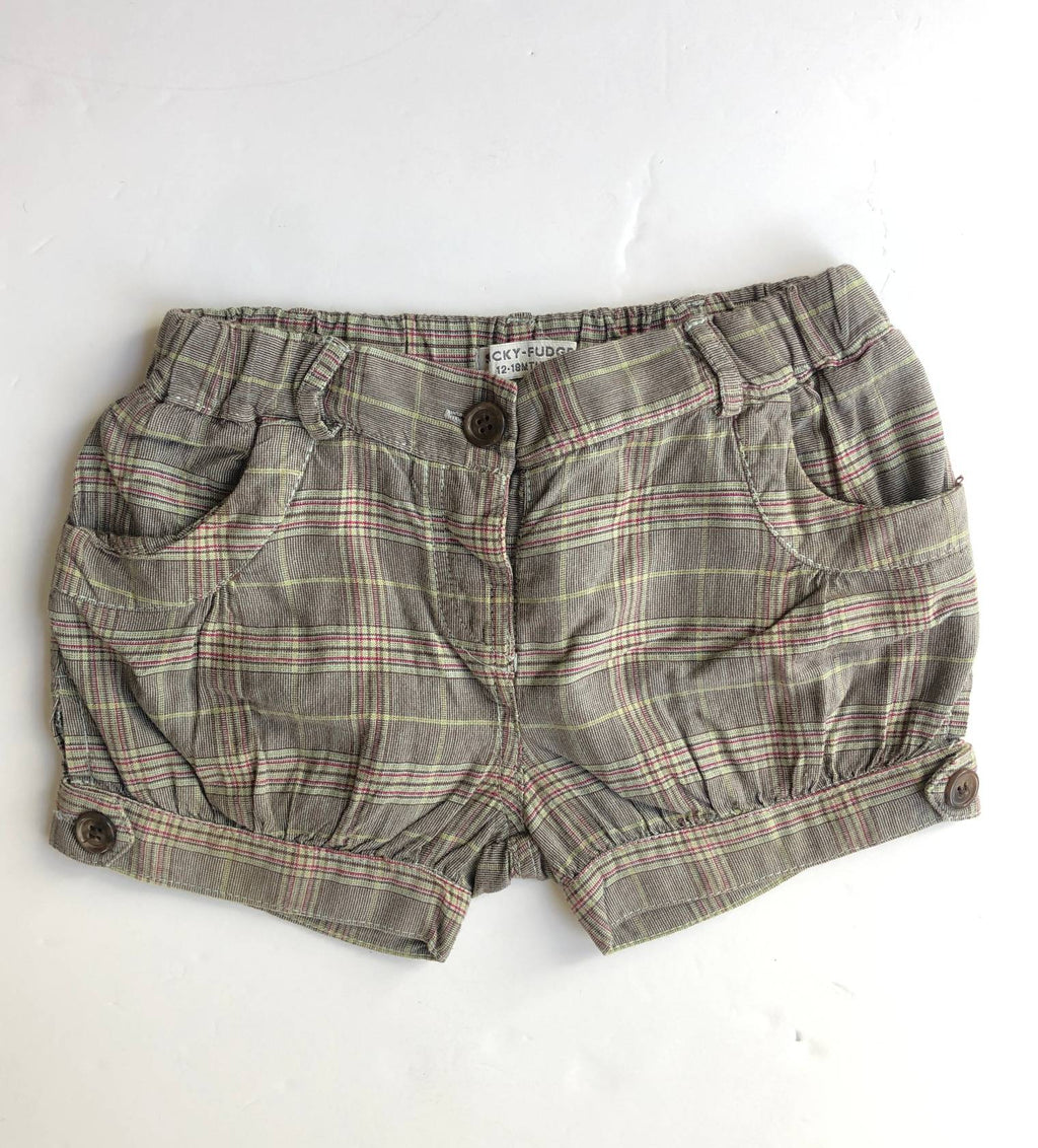 Sticky Fudge shorts (12-18 months)