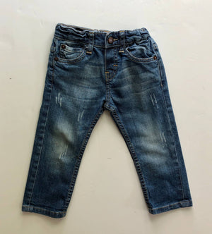 Sticky fudge jeans (18-24 months)