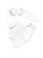 Cj Body Bordado Yellow Submarine - Nina & Maria Baby Store