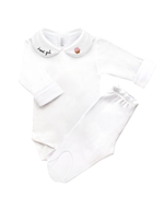 Cj Body Bordado Sweet Girl - Nina & Maria Baby Store