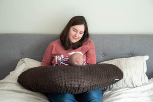 Nursing Pillow -  SuperSoft Chocolate