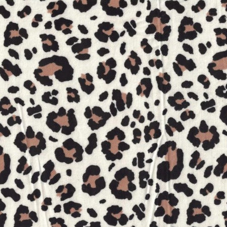 The Baby Buddy Nursing Pillow - Flannel Leopard