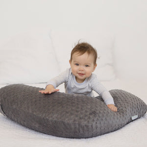 The Baby Buddy Nursing Pillow - Charcoal