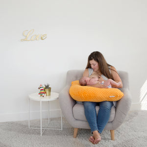 The Baby Buddy Nursing Pillow - Creamsicle