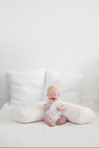 The Baby Buddy Nursing Pillow - Ivory