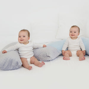 The Baby Buddy Nursing Pillow - Silver