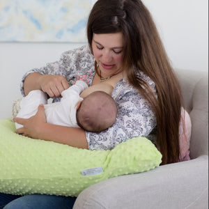 The Baby Buddy Nursing Pillow - Lime