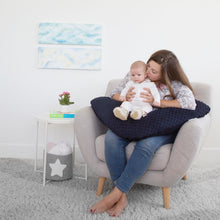 Load image into Gallery viewer, The Baby Buddy Nursing Pillow - Navy
