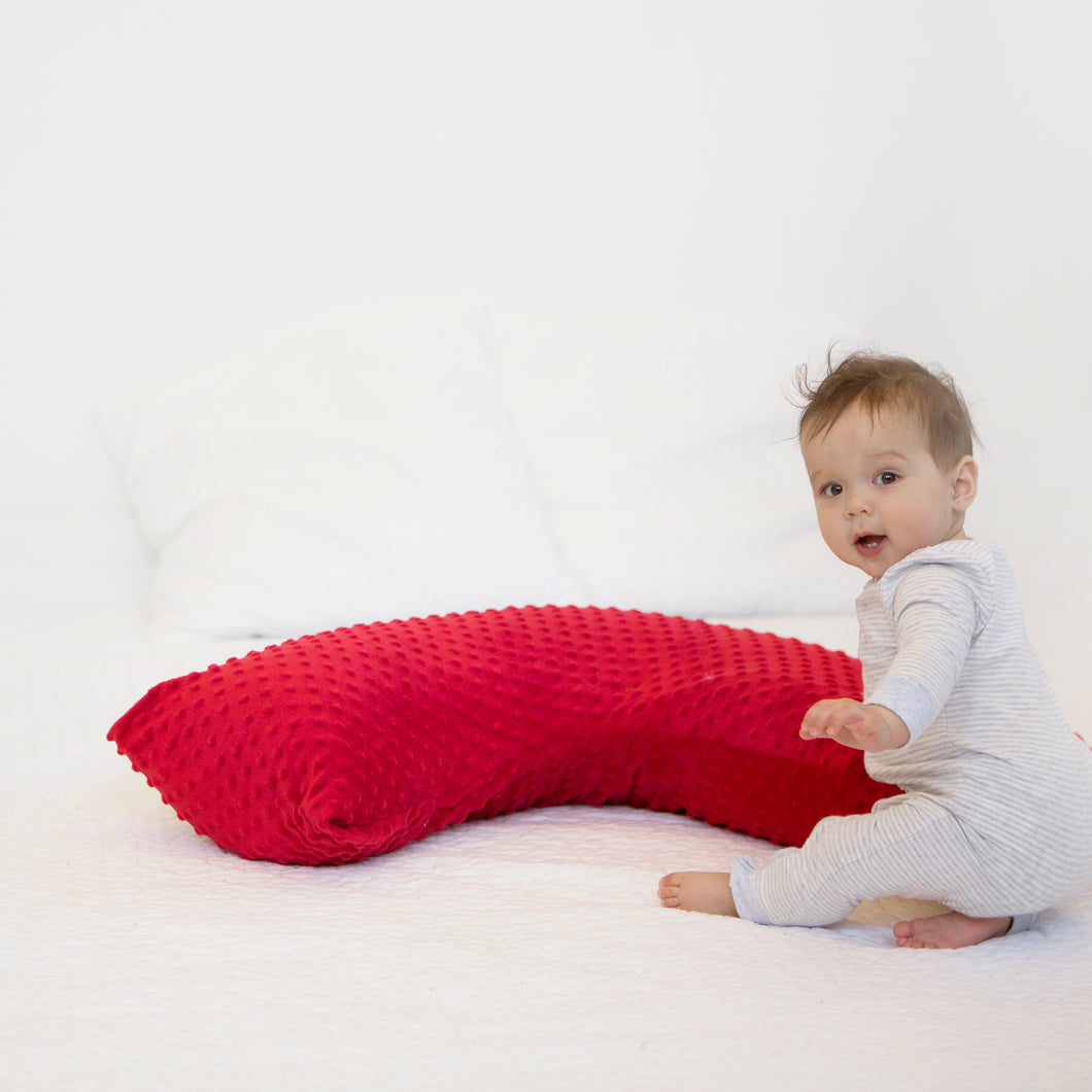 The Baby Buddy Nursing Pillow - Red