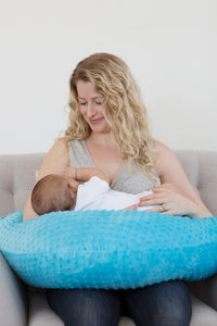 Wholesale Nursing Pillow -  SuperSoft Turquoise