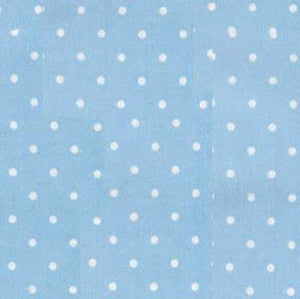 The Baby Buddy Nursing Pillow PIllowcase - Blue Pindot